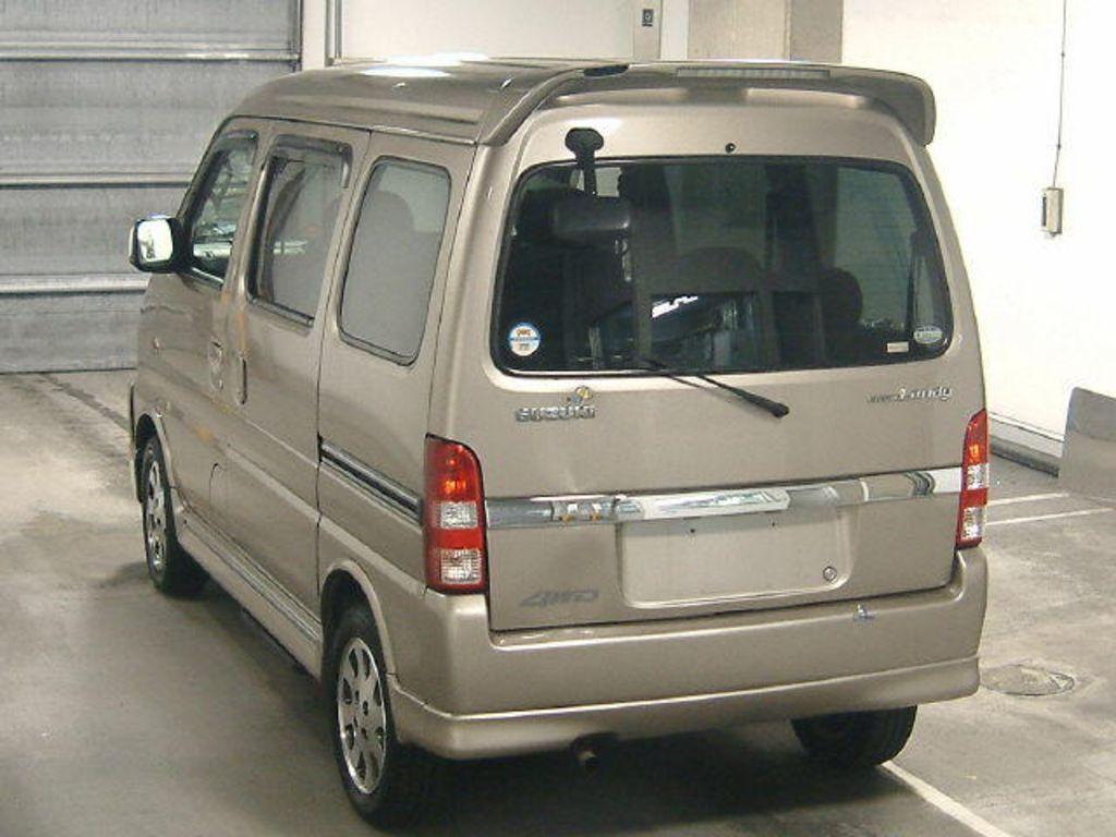 SOLD $1990 2005 Suzuki Every Landy XL,4WD,REAR A/C,7 SEAT 2005 model