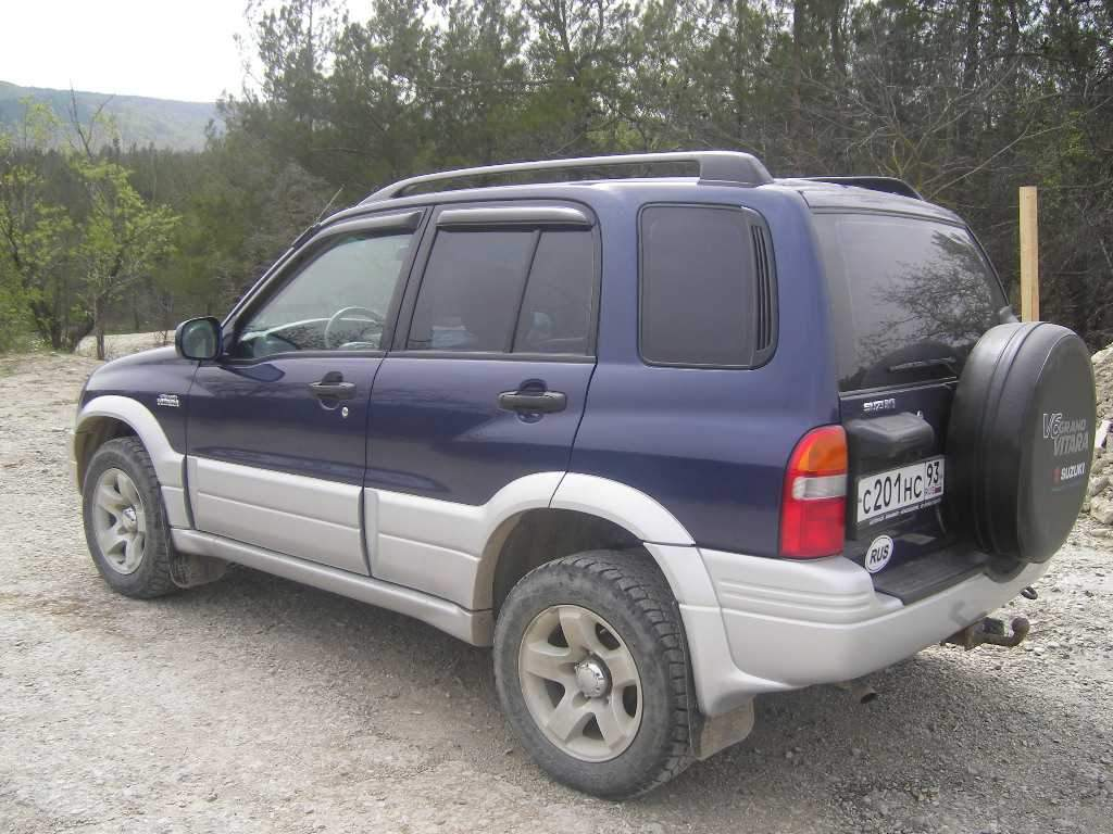 2000 Suzuki Grand Vitara Pictures, 1.5l., Gasoline, Manual ...