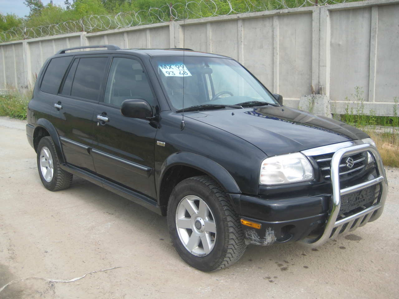 used 2000 suzuki grand vitara xl 7 photos 2700cc. Black Bedroom Furniture Sets. Home Design Ideas