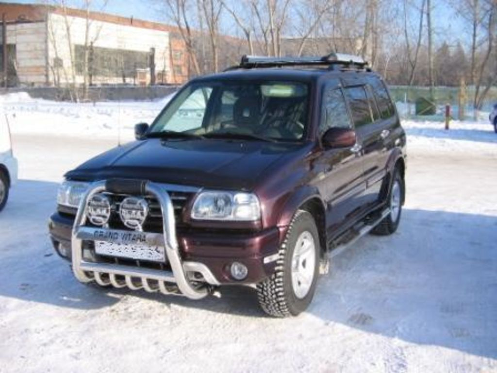 2003 suzuki grand vitara xl 7 specs mpg towing capacity size photos car directory