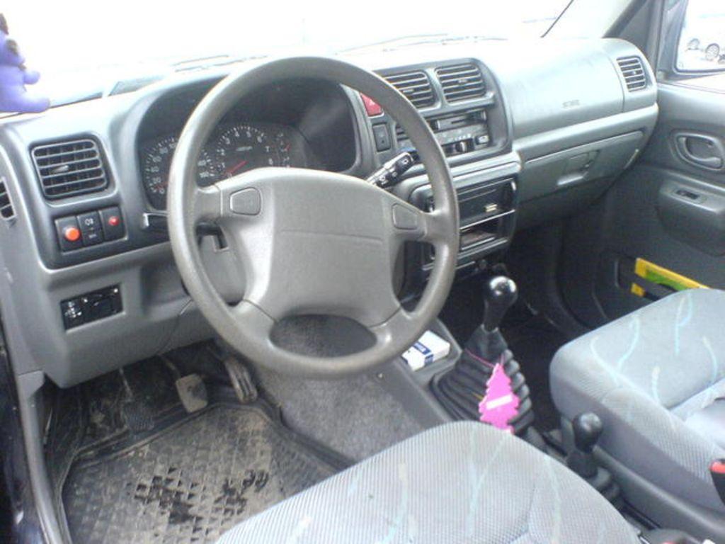 Suzuki Jimny A B Orig on 1998 Suzuki Grand Vitara