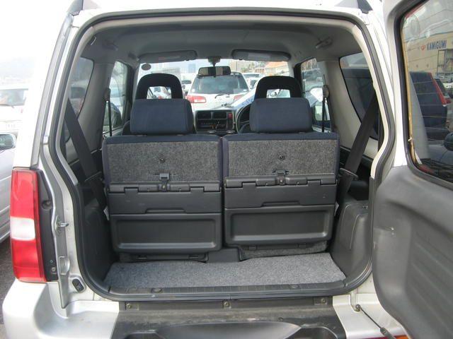 Suzuki Jimny Trunk Space