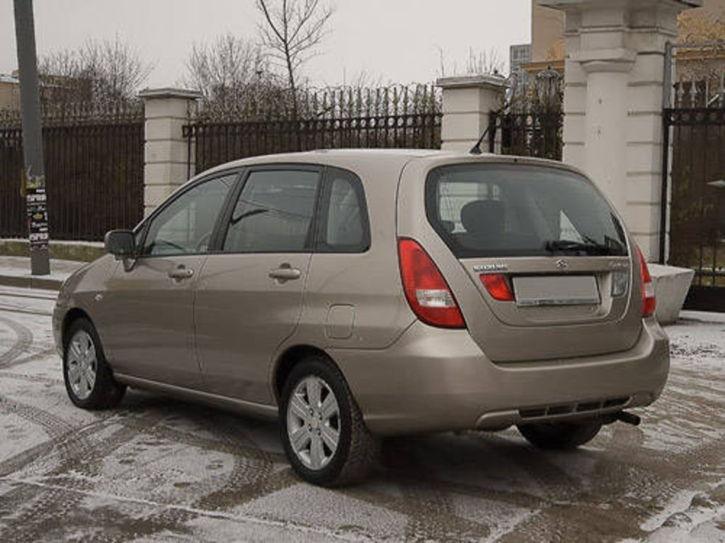 2003 suzuki liana 1 3 related infomation specifications weili automotive network. Black Bedroom Furniture Sets. Home Design Ideas