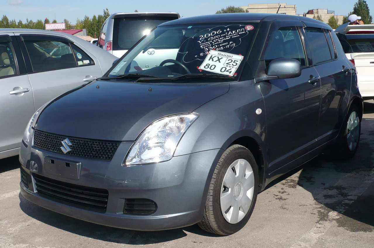 used 2006 suzuki swift photos 1300cc gasoline ff automatic for sale. Black Bedroom Furniture Sets. Home Design Ideas