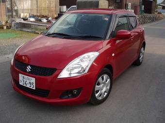 2011 Suzuki Swift Pictures