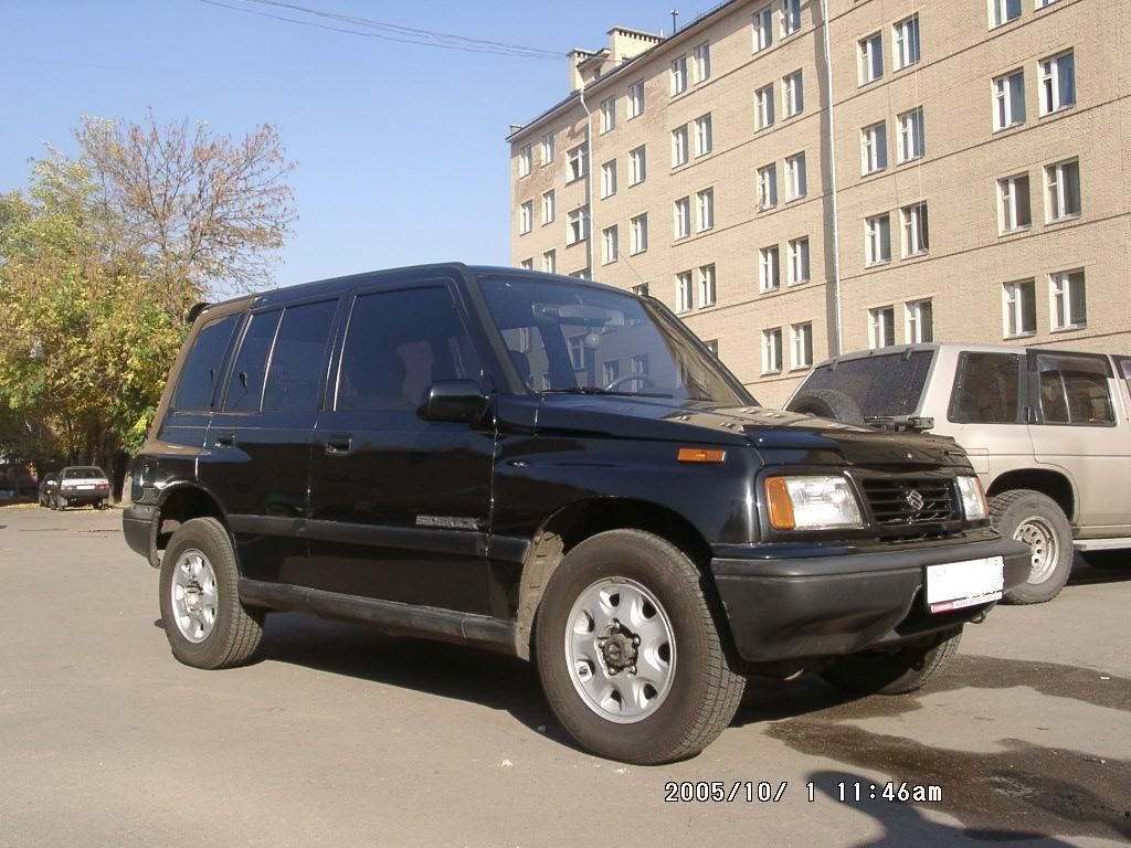 1993 Suzuki Vitara Pictures, 1cc., Gasoline, Manual For Sale