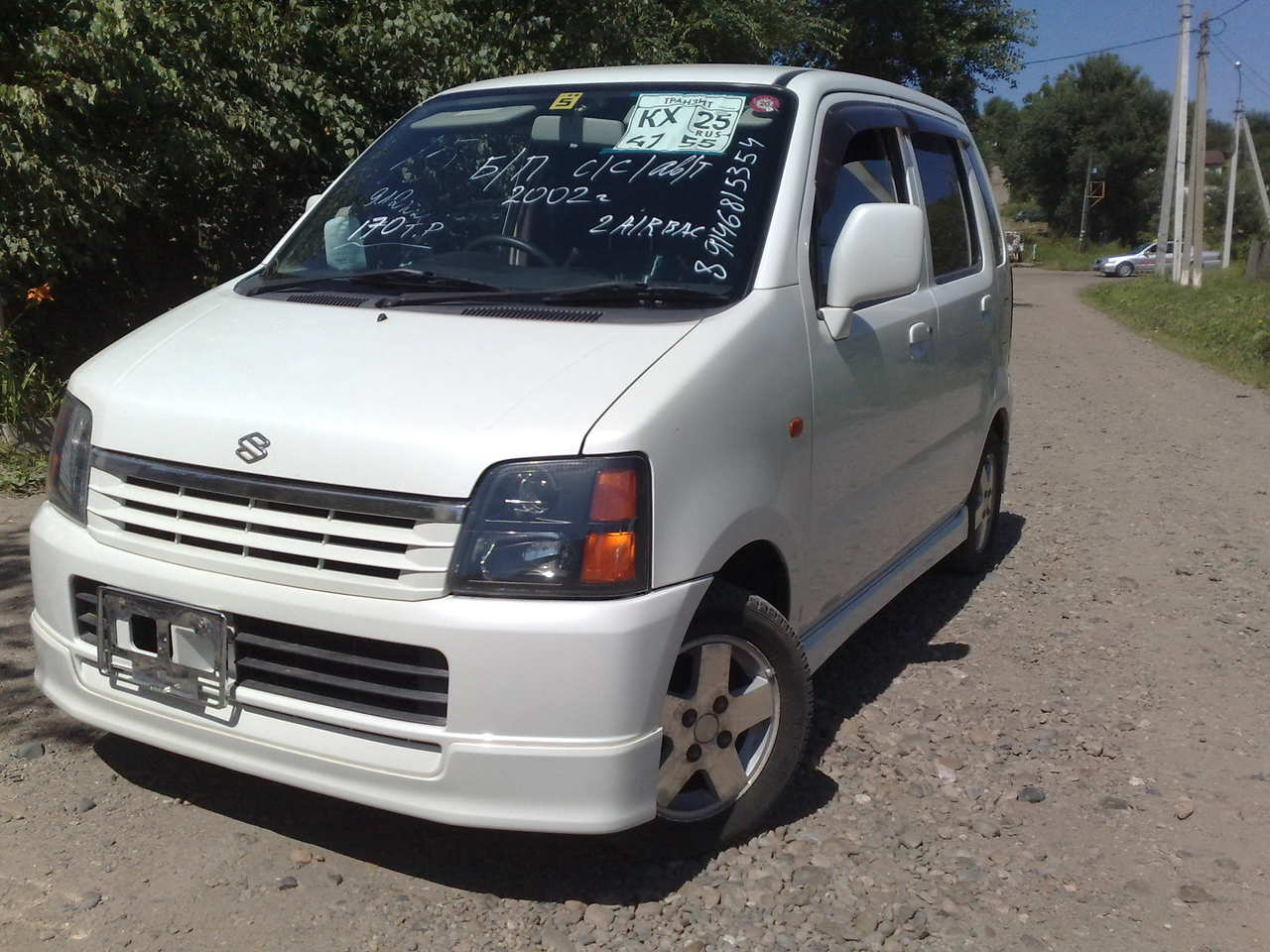 used 2002 suzuki wagon r photos 660cc gasoline ff automatic for sale. Black Bedroom Furniture Sets. Home Design Ideas