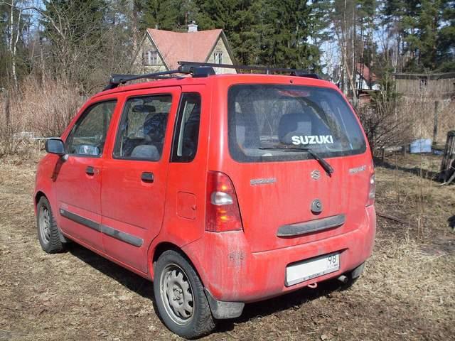 used 2001 suzuki wagon r plus photos 1298cc gasoline. Black Bedroom Furniture Sets. Home Design Ideas