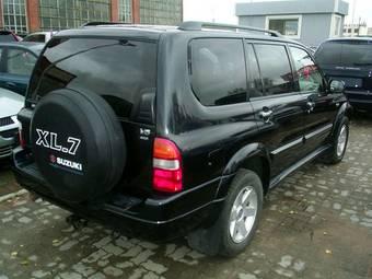 2003 suzuki xl7 specs engine size 2 7 fuel type gasoline transmission gearbox automatic car directory