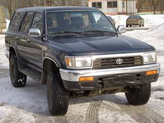 1995 toyota 4runner pictures gasoline automatic for sale. Black Bedroom Furniture Sets. Home Design Ideas