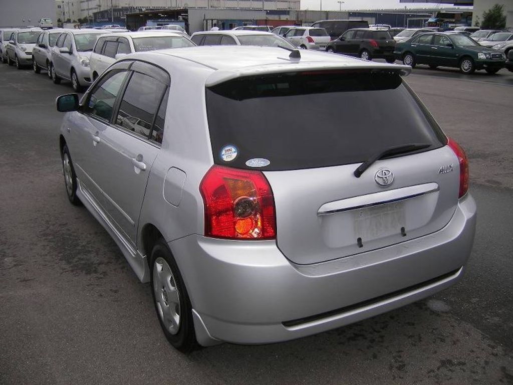 Used 2004 Toyota Allex Pictures, 1.5l., Gasoline, FF, Automatic