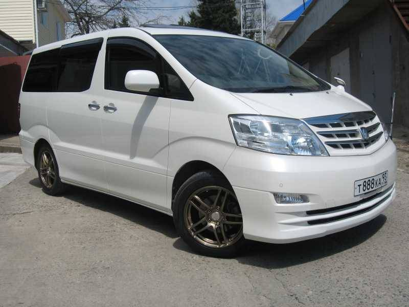 2006 Toyota Alphard Pictures 2 4l Gasoline Automatic