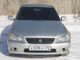 2003 Toyota Altezza Pictures