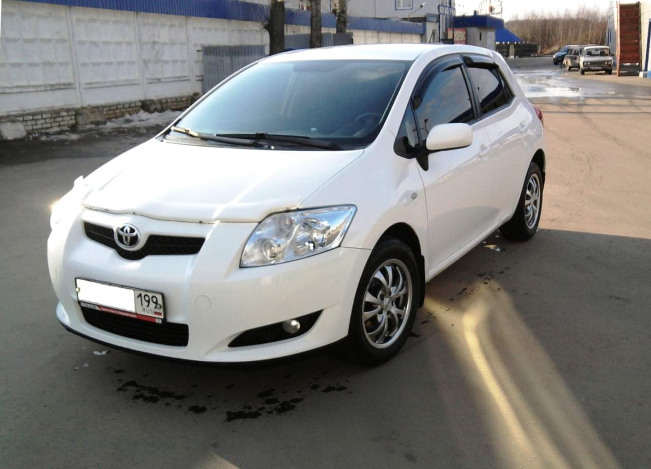 used 2008 toyota auris photos 1600cc gasoline ff manual for sale. Black Bedroom Furniture Sets. Home Design Ideas