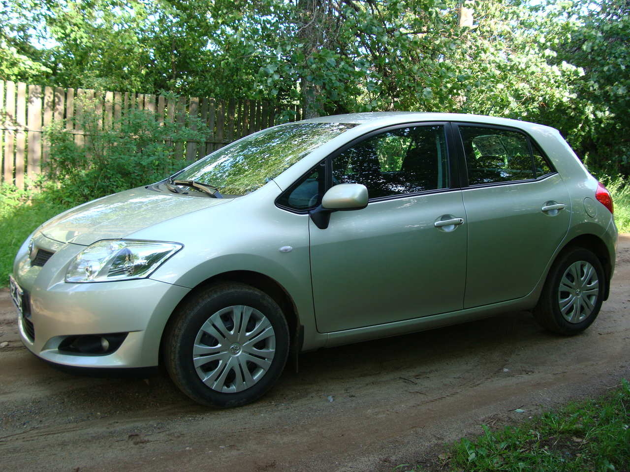 used 2009 toyota auris photos 1600cc gasoline ff manual for sale. Black Bedroom Furniture Sets. Home Design Ideas