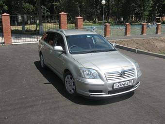 used 2004 toyota avensis photos 2000cc gasoline for sale. Black Bedroom Furniture Sets. Home Design Ideas