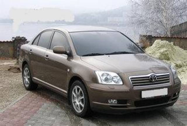 2005 Toyota Avensis Pictures For Sale