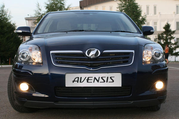 2007 toyota avensis pictures gasoline automatic for sale. Black Bedroom Furniture Sets. Home Design Ideas