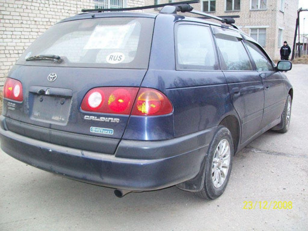 тойота авенсис универсал 1998 фото