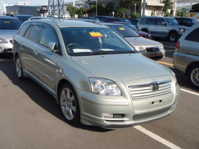 2004 toyota avensis wagon pictures gasoline ff cvt for sale. Black Bedroom Furniture Sets. Home Design Ideas