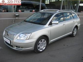 2004 toyota avensis wagon photos 2 0 gasoline ff automatic for sale. Black Bedroom Furniture Sets. Home Design Ideas