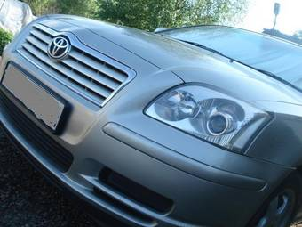 2004 toyota avensis wagon pictures 2000cc gasoline ff for sale. Black Bedroom Furniture Sets. Home Design Ideas