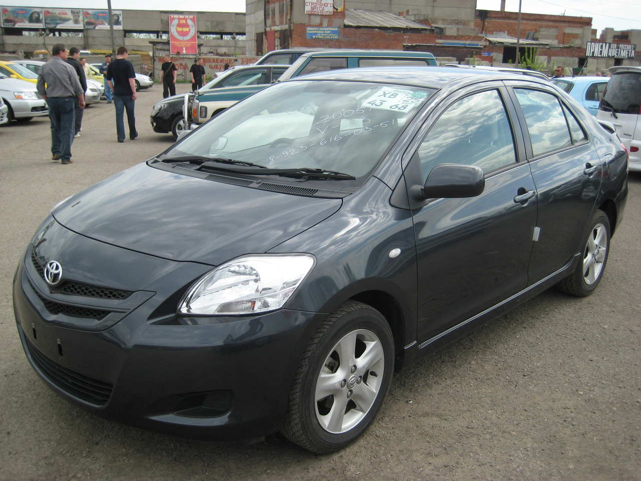 Photo #1 - Enlarge photo 1280x960 2005 Toyota Belta Pics