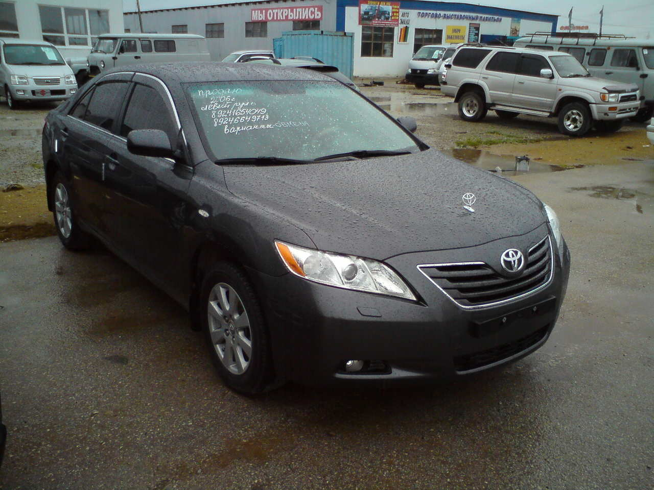 used 2006 toyota camry photos 2400cc gasoline ff. Black Bedroom Furniture Sets. Home Design Ideas