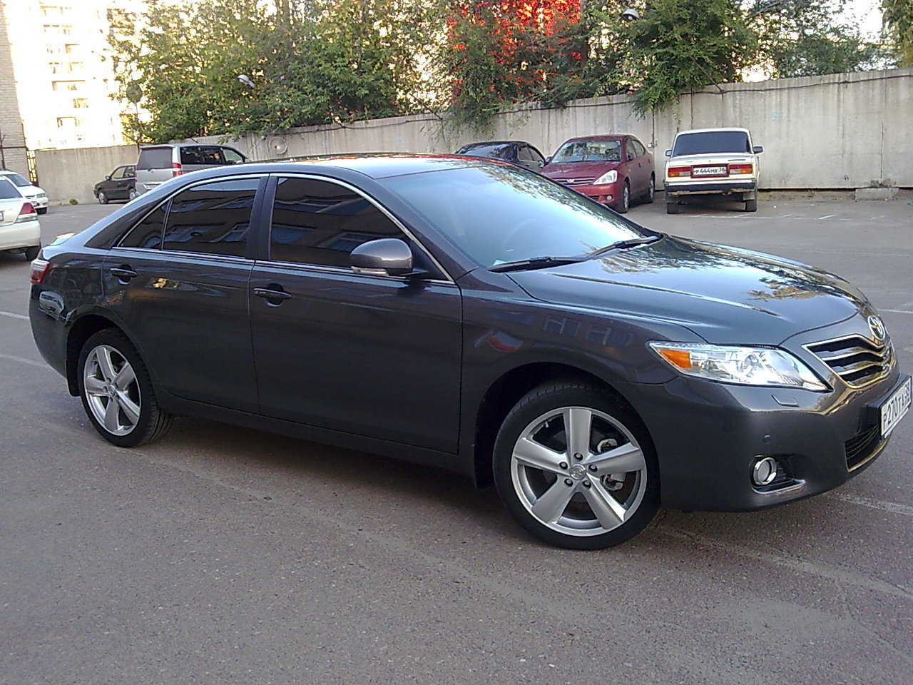 2009 toyota camry photos 2 4 gasoline ff automatic for. Black Bedroom Furniture Sets. Home Design Ideas