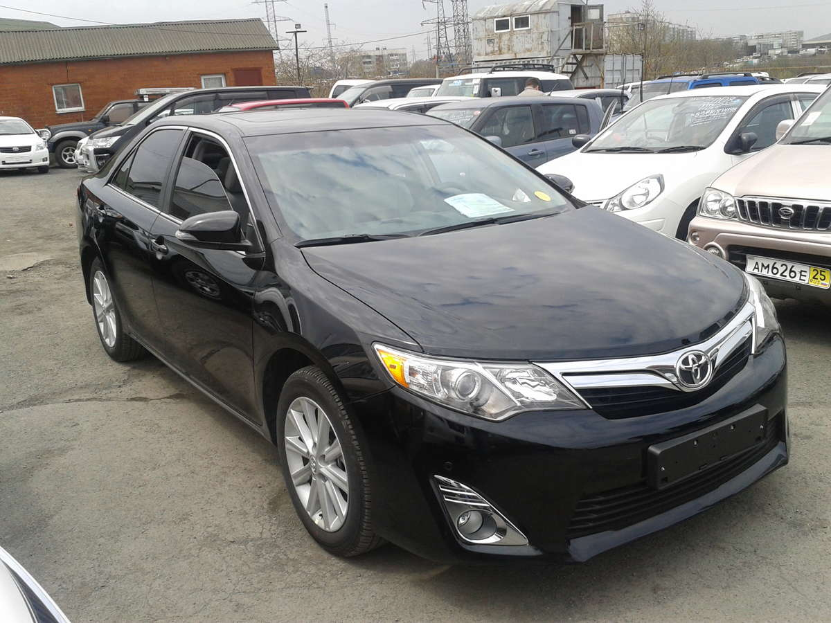 Used 2012 Toyota Camry s 2500cc Gasoline FF