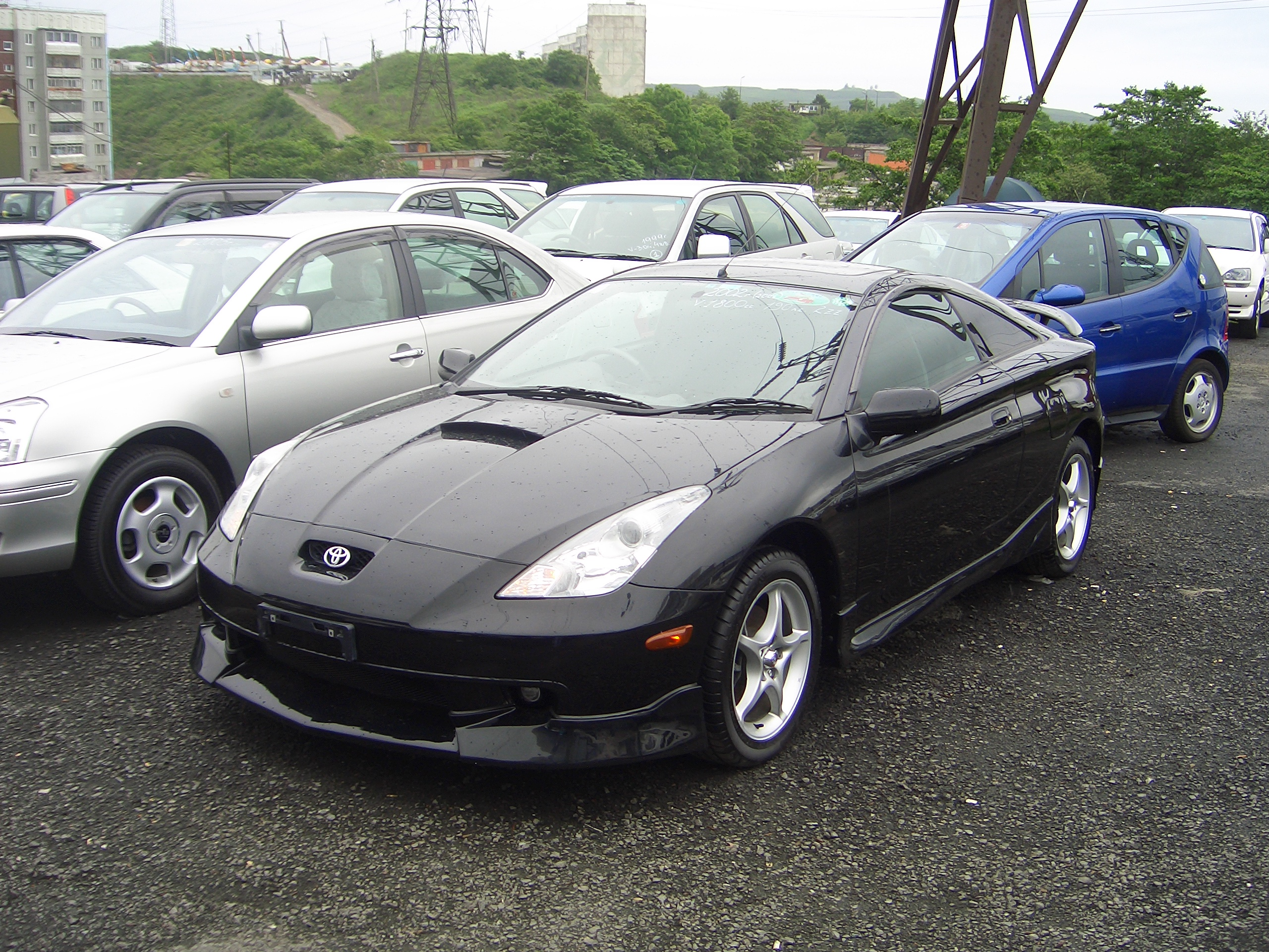 2001 toyota celica pictures 1800cc gasoline ff. Black Bedroom Furniture Sets. Home Design Ideas