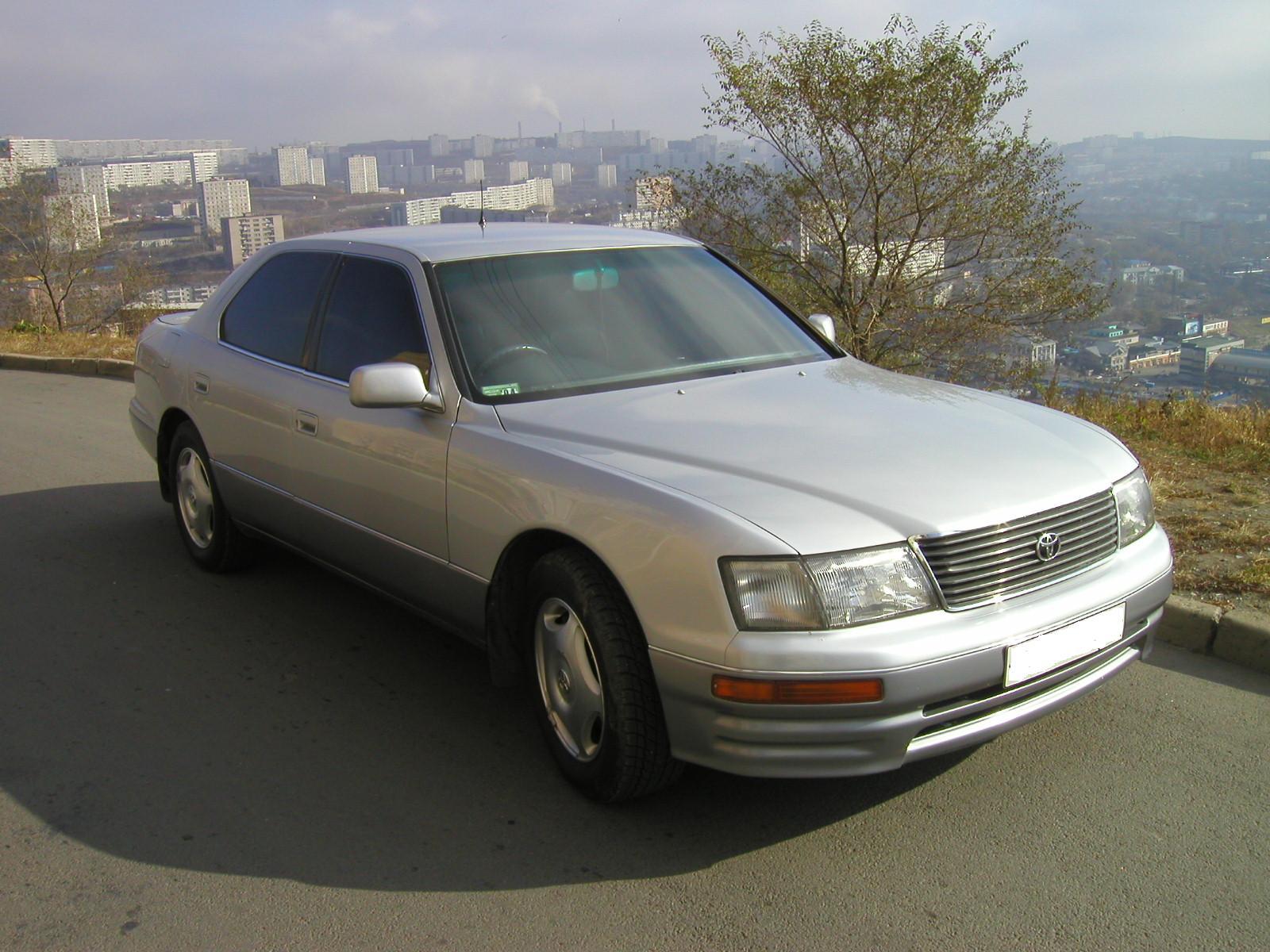 1996 Toyota Celsior Pictures 4000cc Gasoline Fr Or Rr