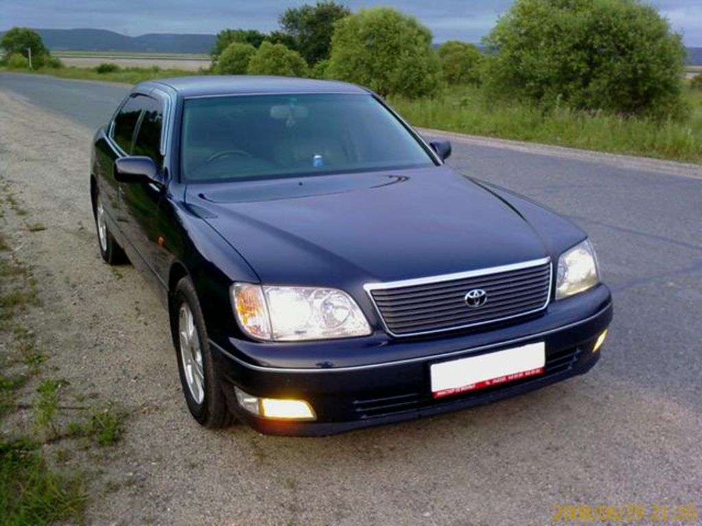1998 Toyota Celsior Pictures For Sale