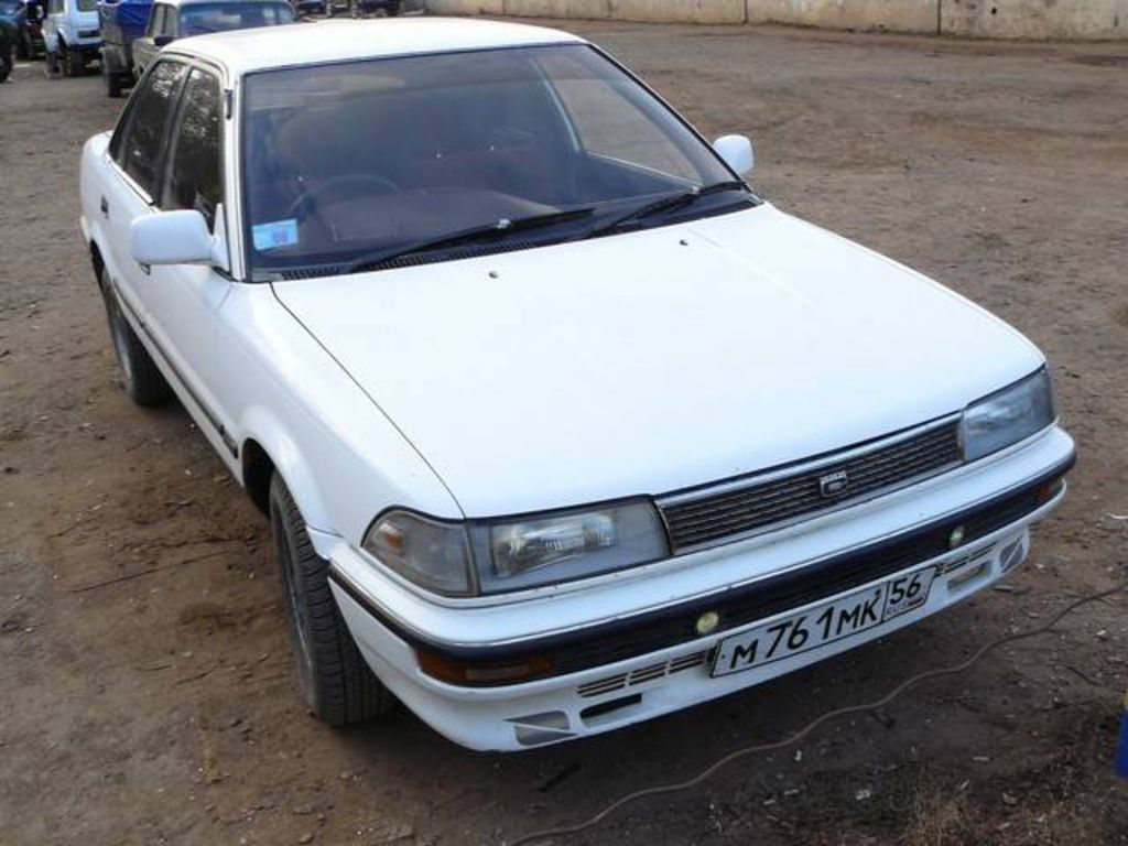 1989 toyota corolla pictures for sale
