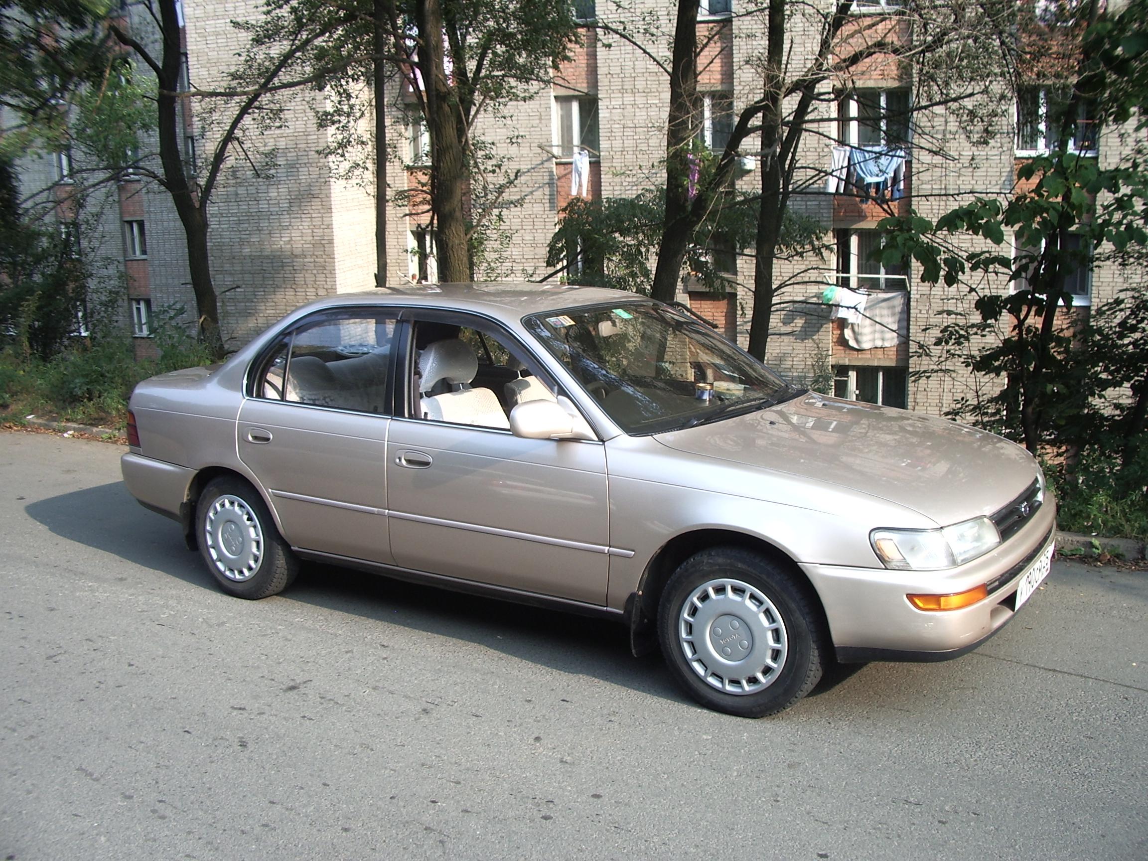 Kekurangan Toyota Corolla 1992 Tangguh