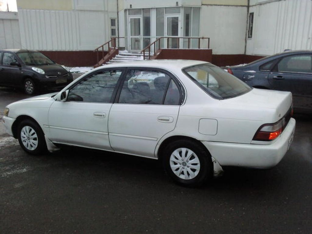 1993 toyota corolla pictures 1300cc gasoline ff manual for sale. Black Bedroom Furniture Sets. Home Design Ideas