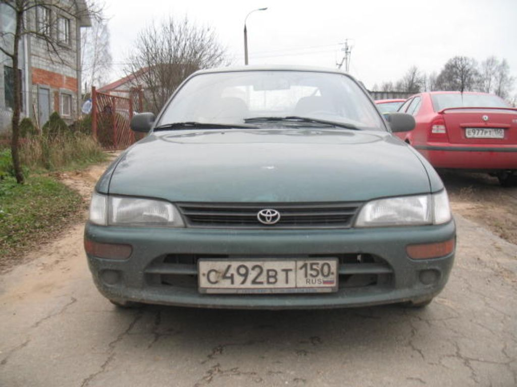 1993 toyota corolla pictures 1500cc automatic for sale. Black Bedroom Furniture Sets. Home Design Ideas