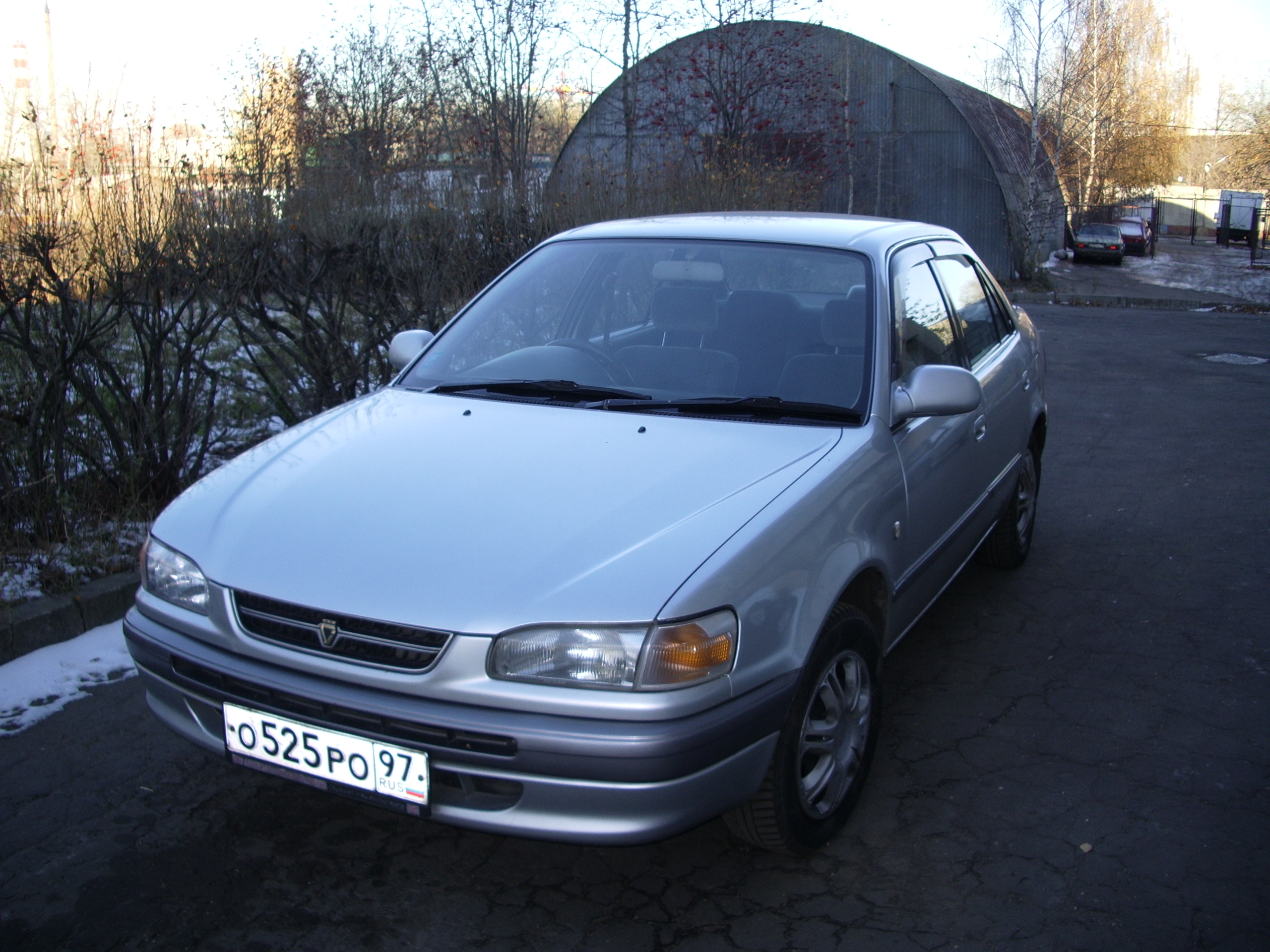 1996 Toyota Corolla Pictures 1600cc Gasoline Automatic