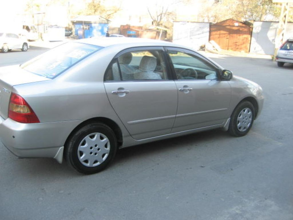 B And B Automotive >> 2001 Toyota Corolla specs: mpg, towing capacity, size, photos
