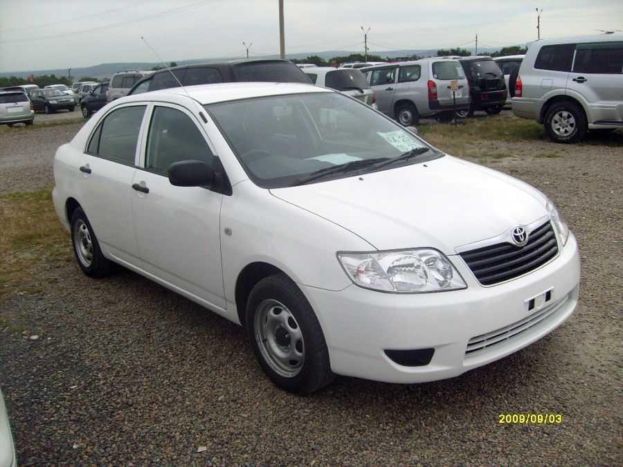 2005 Toyota Corolla Pictures 1 5l Gasoline Ff