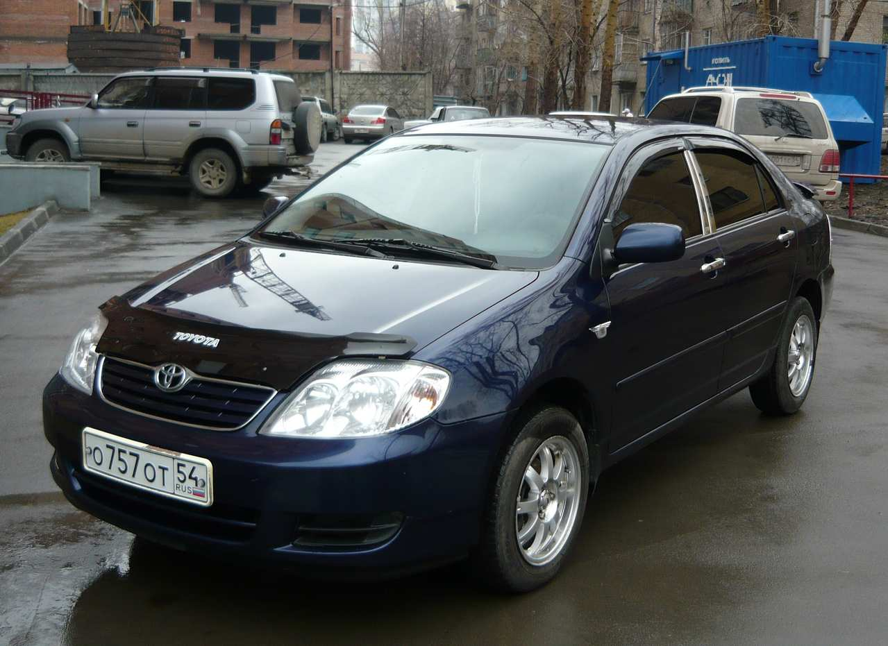 2005 toyota corolla for sale 1400cc gasoline ff