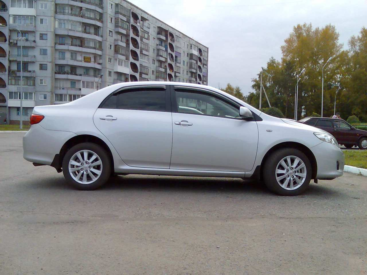 used 2007 toyota corolla photos 1600cc gasoline ff automatic for sale. Black Bedroom Furniture Sets. Home Design Ideas