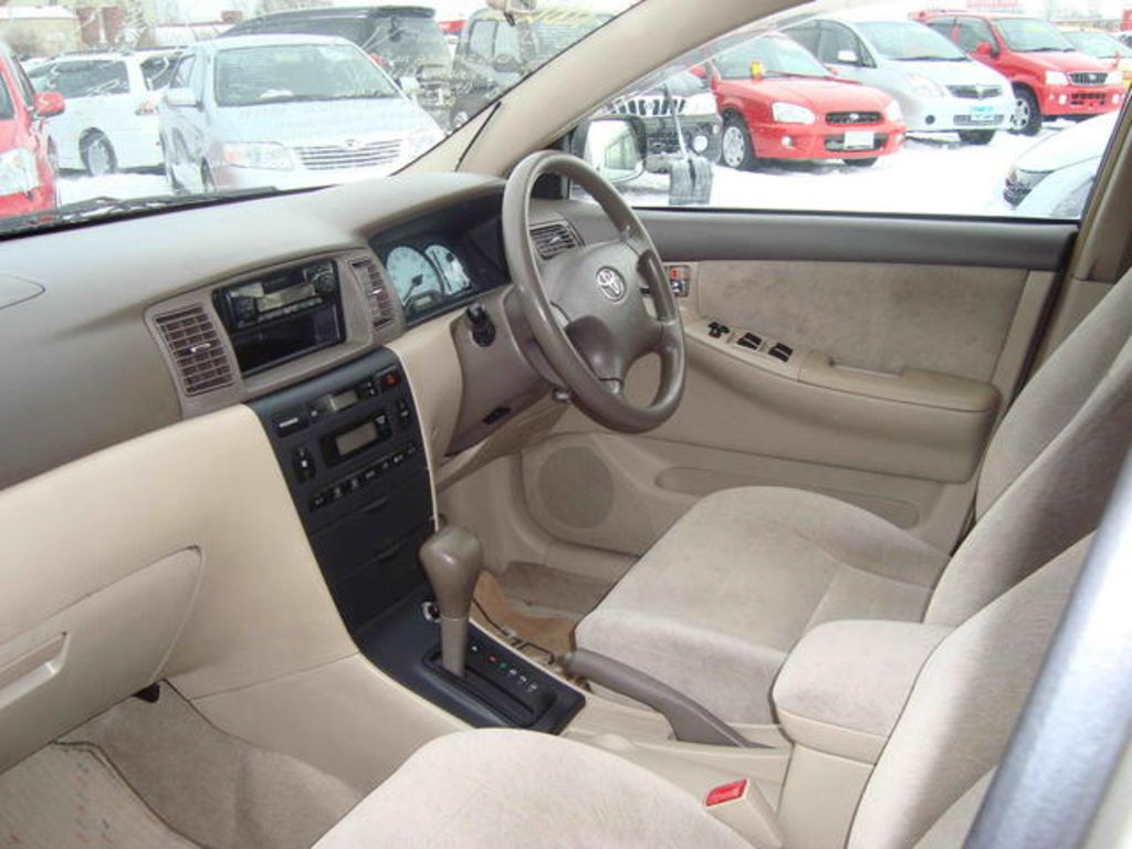 2001 toyota corolla fielder pictures for sale