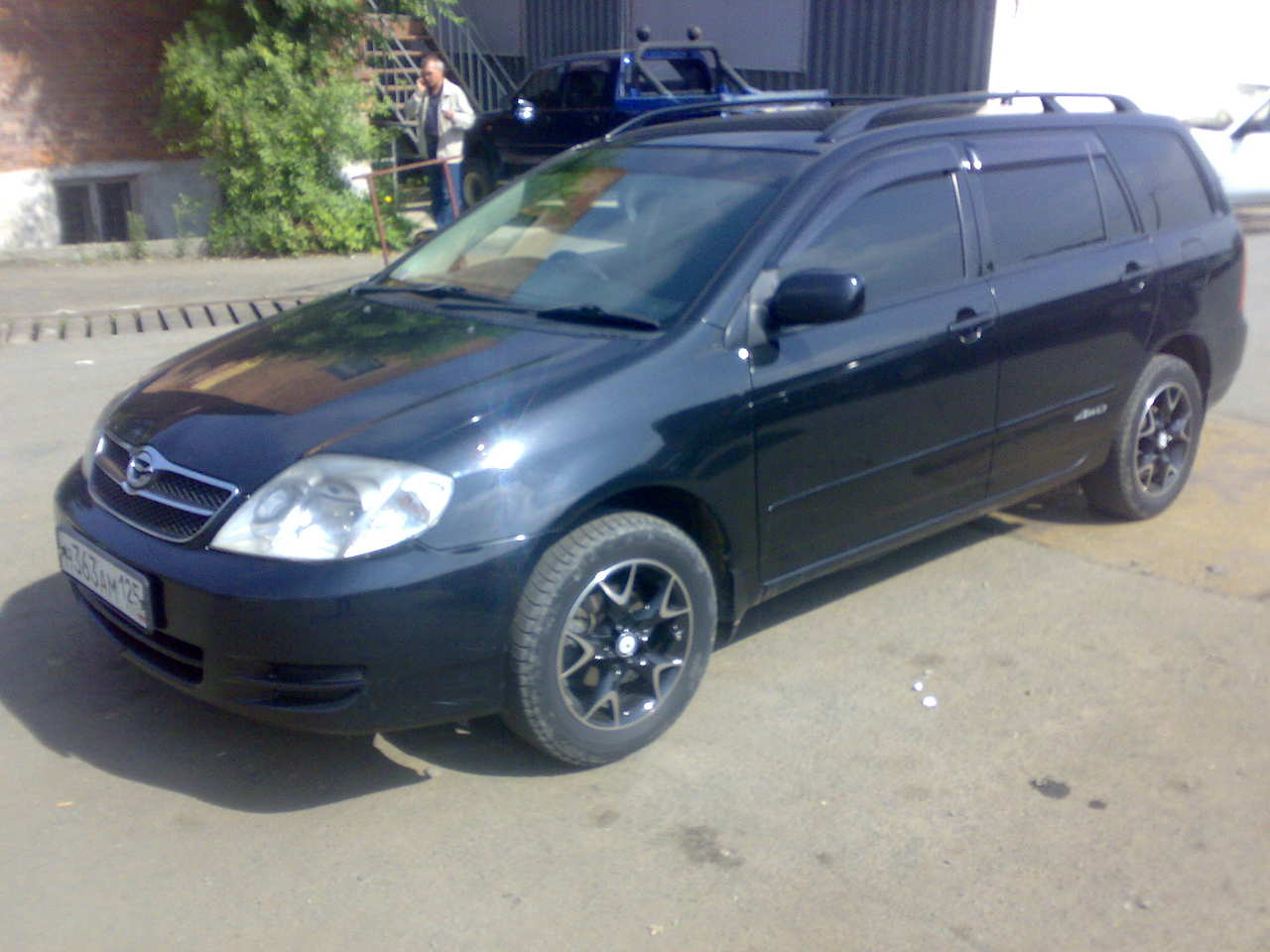 2002 toyota corolla fielder for sale 1 8 gasoline automatic for sale. Black Bedroom Furniture Sets. Home Design Ideas