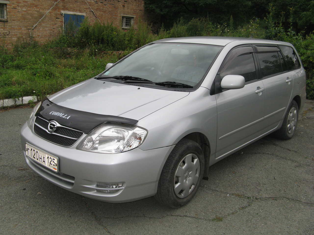 Used 2003 Toyota Corolla Fielder Photos 1500cc Gasoline