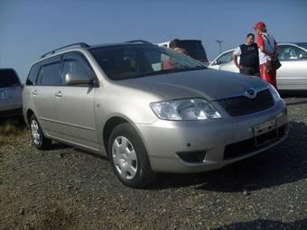 2004 Toyota Corolla Fielder Photos