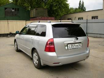 2004 Toyota Corolla Fielder Photos