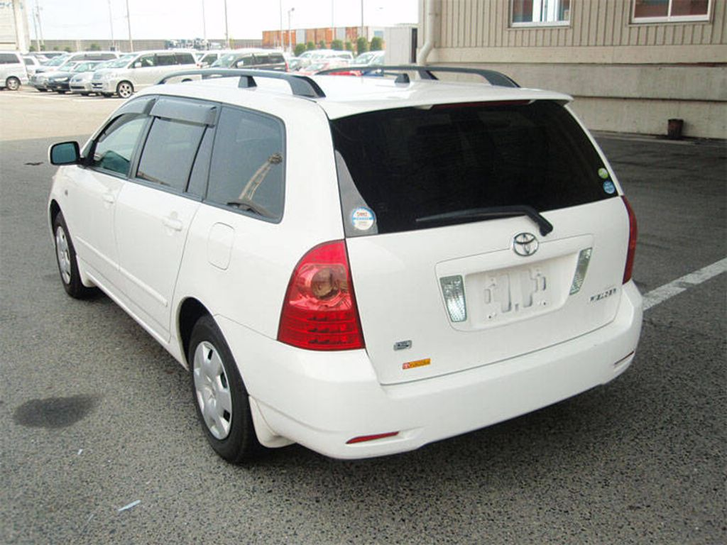 2005 Toyota Corolla Fielder For Sale