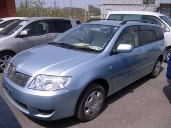 2005 Toyota Corolla Fielder Images