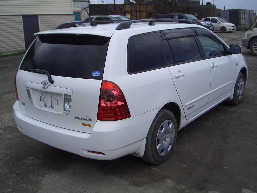 Used 2006 Toyota Corolla Fielder Photos 1800cc Gasoline